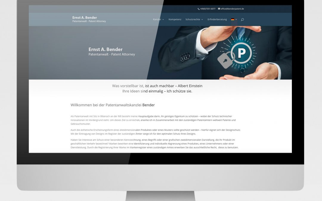 Patentanwalt Bender – Biberach