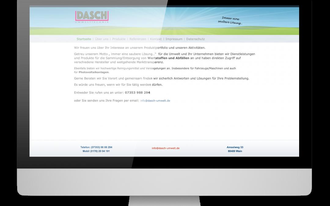 Umwelttechnik Dasch – Wain